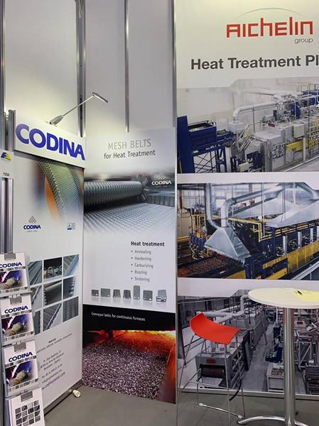 Le stand de Codina dans le Salon Fastener Fair Stuttgart