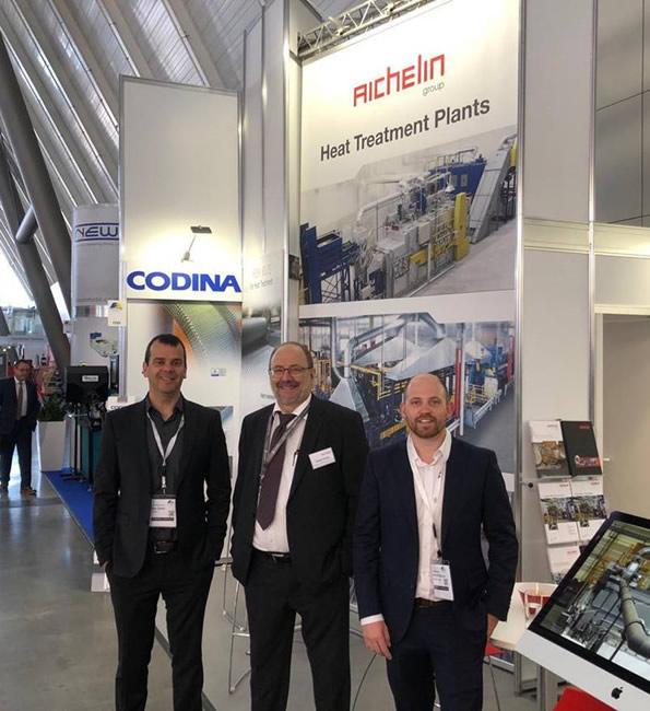 Codina en la Fastener Fair Stuttgart 2019