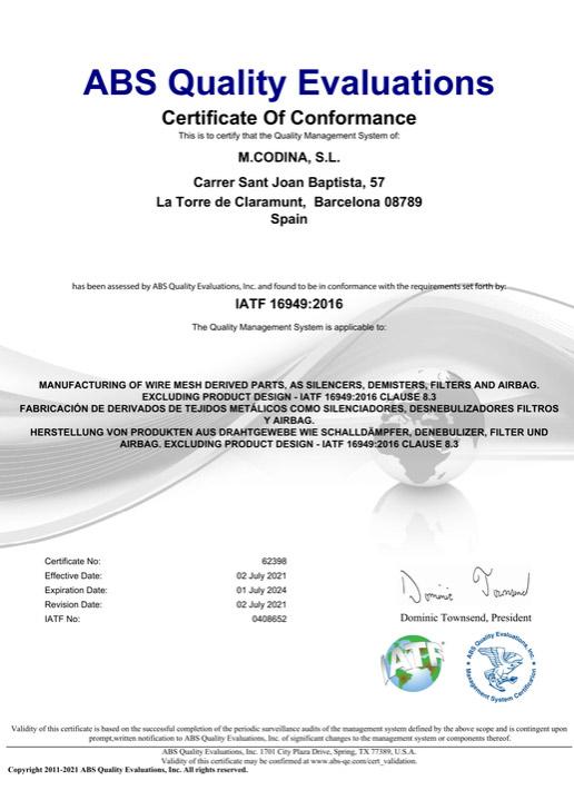 AITF Certificate